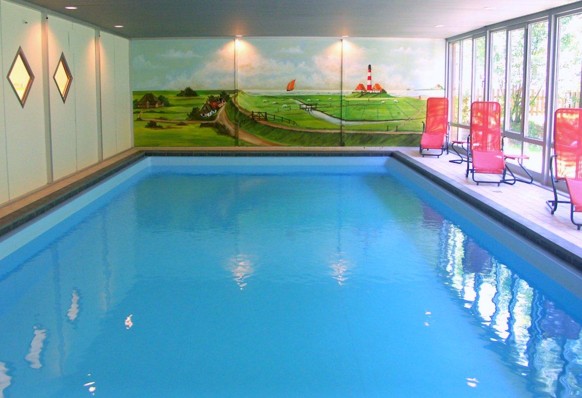St.. Peter-Ording Hotel Eulenhof: Hallenschwimmbad